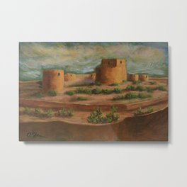 Spanish Fortress AC160703a Metal Print