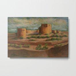 Spanish Fortress AC160703a Metal Print