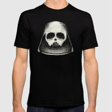 Death Vader Black Mens Fitted Tee LARGE
