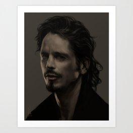 Chris Cornell tribute Art Print