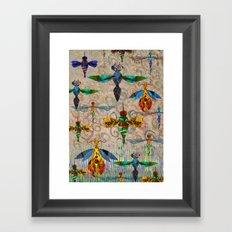 Free as a bug. Framed Art Print