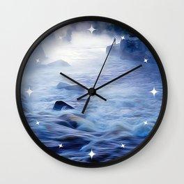 Fishing on the Sea - Art Wall Clock