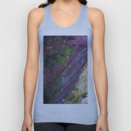 The painted Rainbow Unisex Tank Top