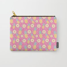 Pink Pinapple Carry-All Pouch