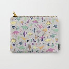 Dinosaur Desert Carry-All Pouch
