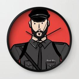 Beard Boy: Alberto Wall Clock
