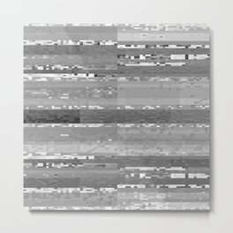 gray blanket Metal Print