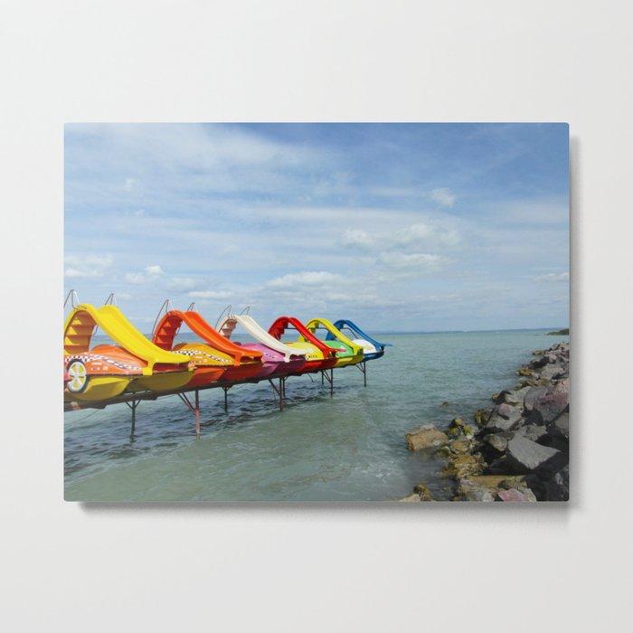 Lake Balaton Metal Print
