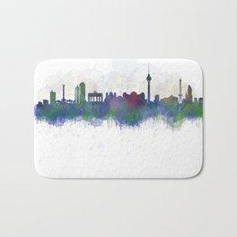 Berlin City Skyline HQ3 Bath Mat