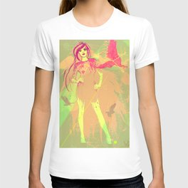 girl tattoo T-shirt