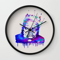 notorious Wall Clocks featuring Notorious by Fimbis