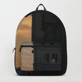 Sunset in Italy Backpack