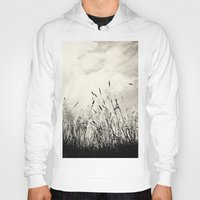 grass Hoodies featuring Grass by Angela Fanton