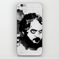 stanley kubrick iPhone & iPod Skins featuring Stanley Kubrick by Kongoriver
