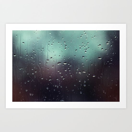 Drop of Water  Art Print