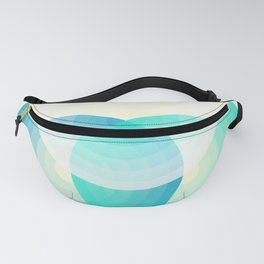 Three colour circles inverted, inspired by Lacouture's Répertoire chromatique Fanny Pack