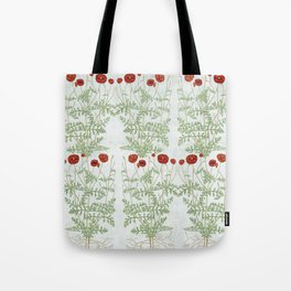 A reminder of past poppies Tote Bag