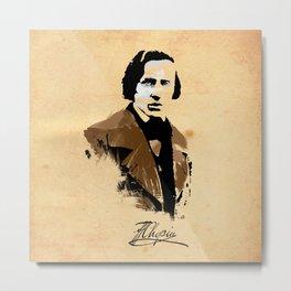 Frederic Chopin - Polish Composer, Pianist Metal Print