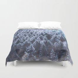 Winter Atmosphere Duvet Cover