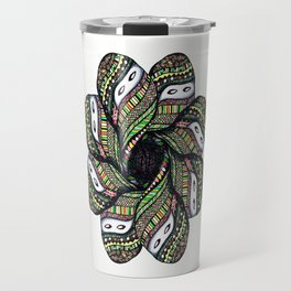 covered woman mandala Travel Mug