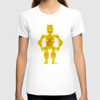 c3po T-shirts featuring C3PO by Vulgosclub