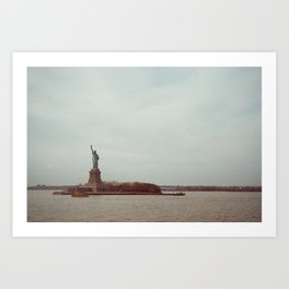 View from the Ferry Art Print