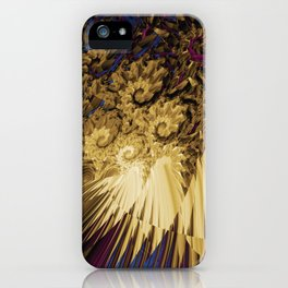 Messy Abstract iPhone Case