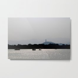 Beijing Summer Palace Metal Print