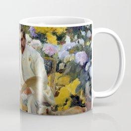 "Joaquín Sorolla y Bastida ""Portrait of Louis Comfort Tiffany"", 1911 Coffee Mug"