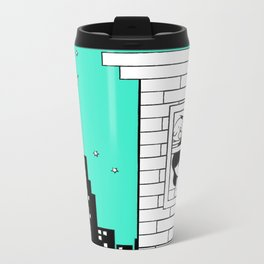 Midnight City Light - Retraced Metal Travel Mug