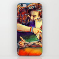 larry stylinson iPhone & iPod Skins featuring Home - Larry by art-changes
