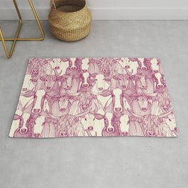 just cattle cherry pearl Rug