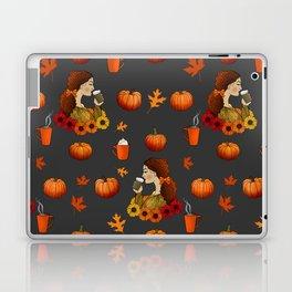 Pumpkin Spice Laptop & iPad Skin