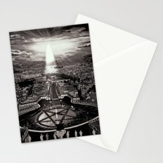 Vatican Rocking View Black and White Stationery Cards