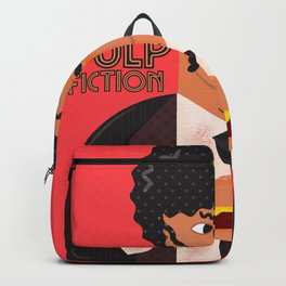 Pulp Fiction, Quentin Tarantino, Samuel L. Jackson, alternative movie poster Backpack