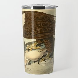 Bald Eagle (Haliaeetus leucocephalus) Travel Mug