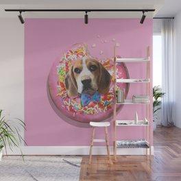 Doggy Donut Wall Mural