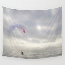 """""""Paraglider 4"""" by Murray Bolesta Wall Tapestry"""