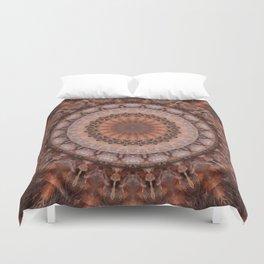 Mandala homely atmosphere Duvet Cover