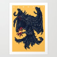 germany Art Prints featuring Germany by Ivan Belikov