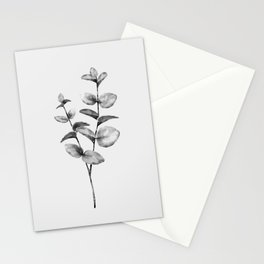 Simple plant Stationery Cards