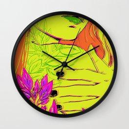 P O I S O N I V Y Wall Clock