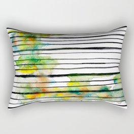 striped colors Rectangular Pillow