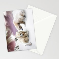 Polar Bears and Penguin Stationery Cards