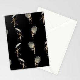 Umbrella Dance Stationery Cards