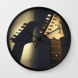 Golden Pacifica Wall Clock