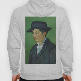 Portrait of Armand Roulin by Vincent van Gogh Hoody