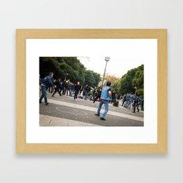 Yoyogi Rockers Framed Art Print