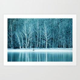 frozen IV Art Print