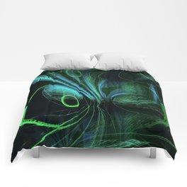 Swordtail Abstract Comforters